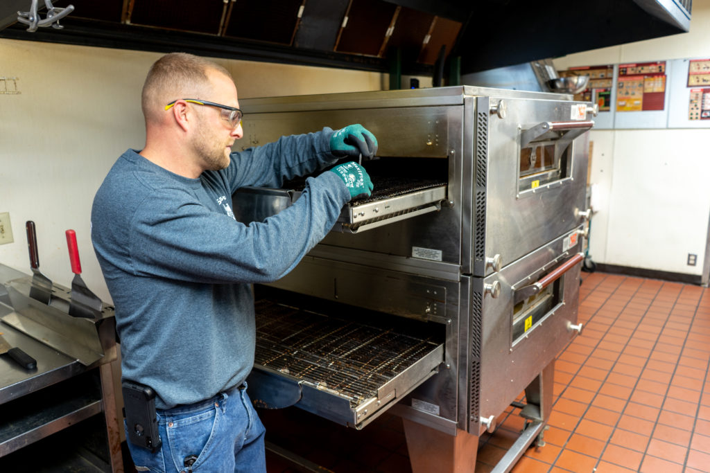 commercial oven service