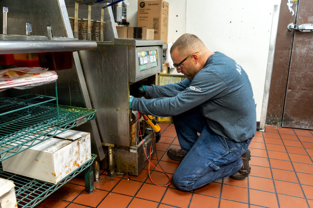 commercial fryer service